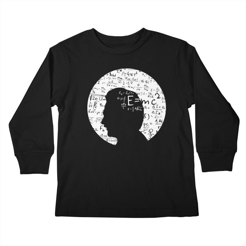 Albert Kids Longsleeve T-Shirt by mhacksi's Artist Shop
