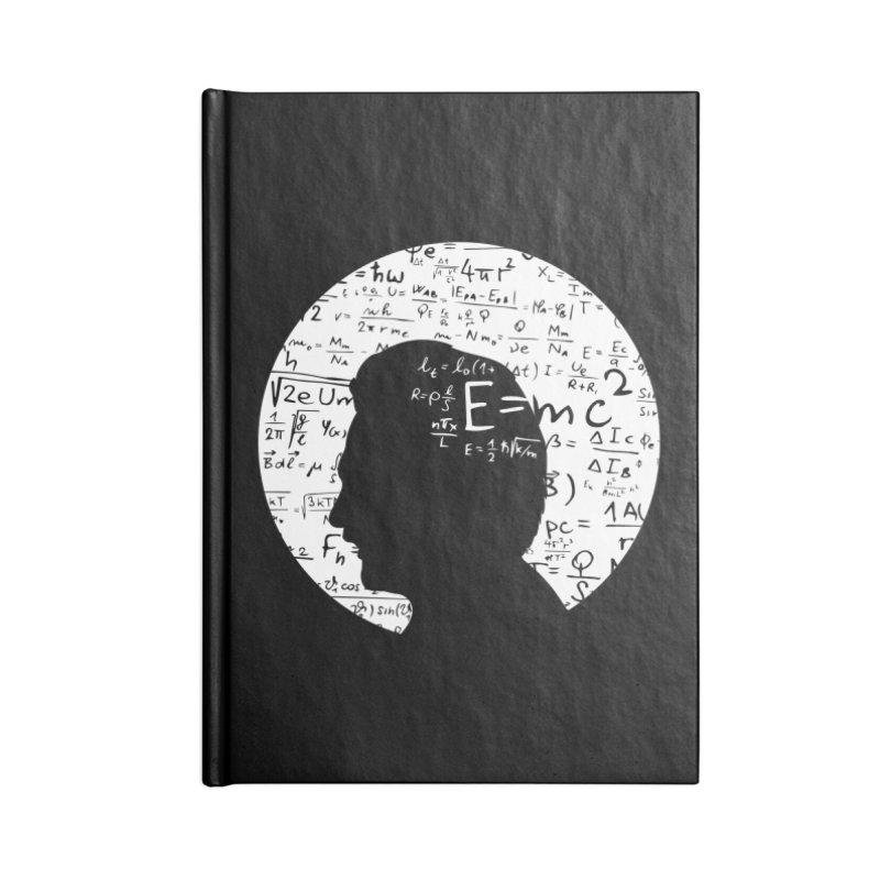 Albert Accessories Lined Journal Notebook by mhacksi's Artist Shop