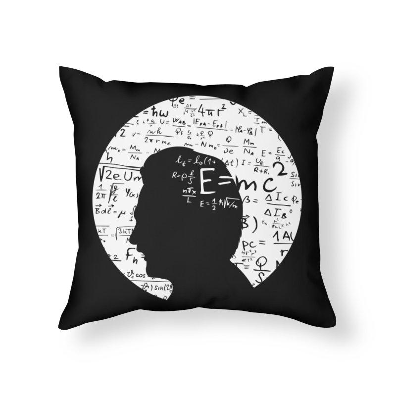 Albert Home Throw Pillow by mhacksi's Artist Shop