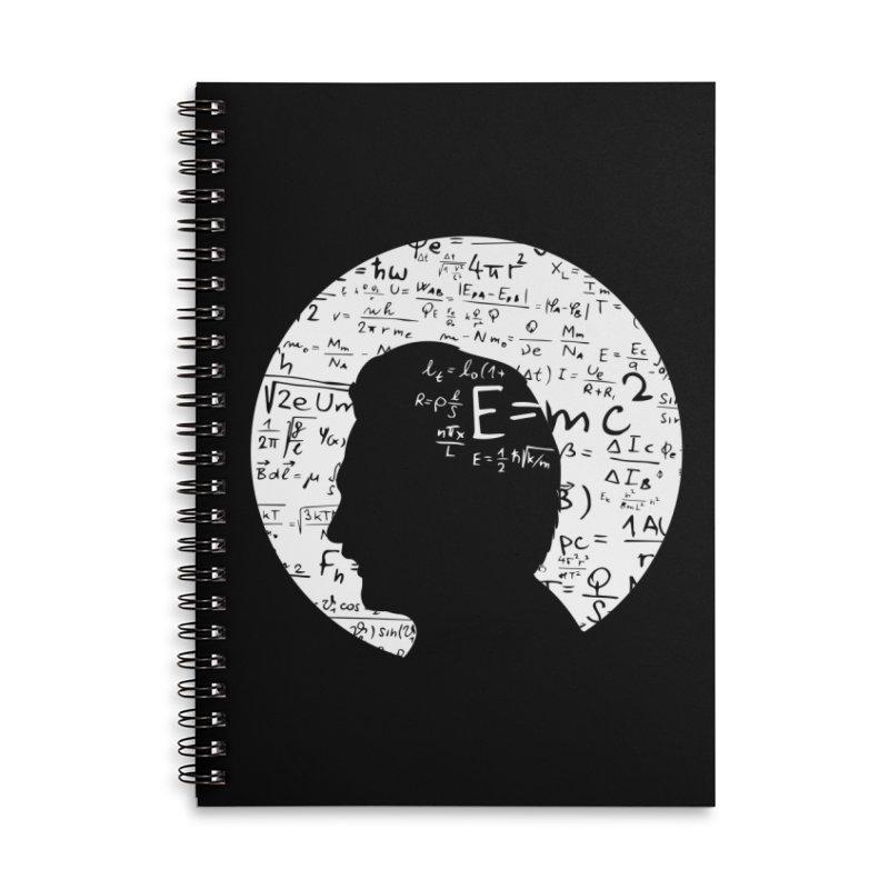 Albert Accessories Lined Spiral Notebook by mhacksi's Artist Shop