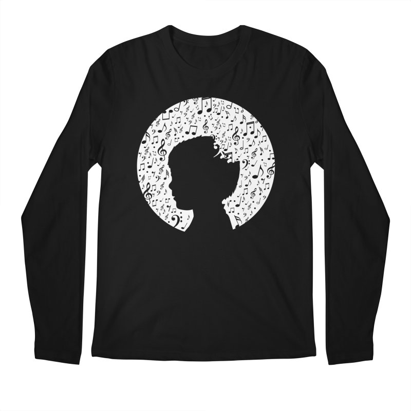 Science of Music Men's Longsleeve T-Shirt by mhacksi's Artist Shop
