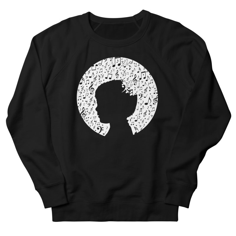 Science of Music Women's French Terry Sweatshirt by mhacksi's Artist Shop