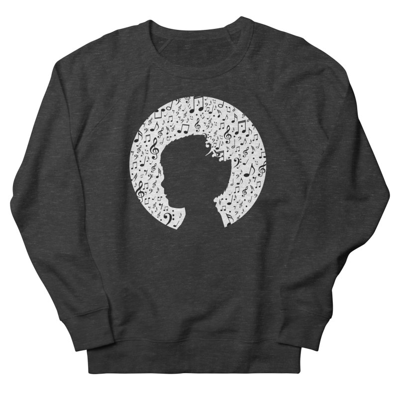 Science of Music Men's French Terry Sweatshirt by mhacksi's Artist Shop