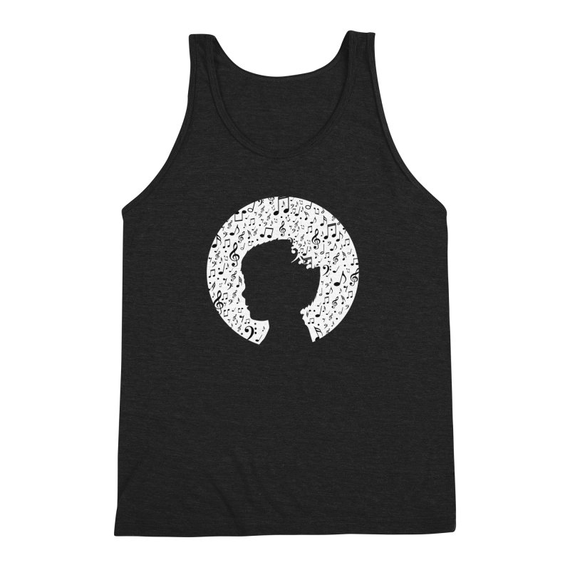 Science of Music Men's Triblend Tank by mhacksi's Artist Shop