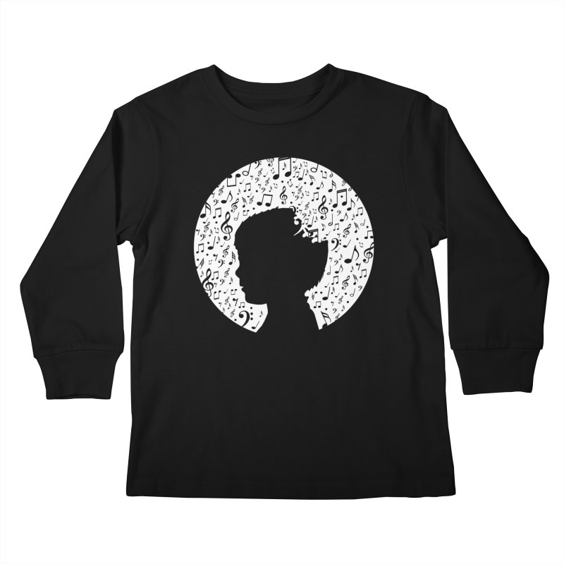 Science of Music Kids Longsleeve T-Shirt by mhacksi's Artist Shop