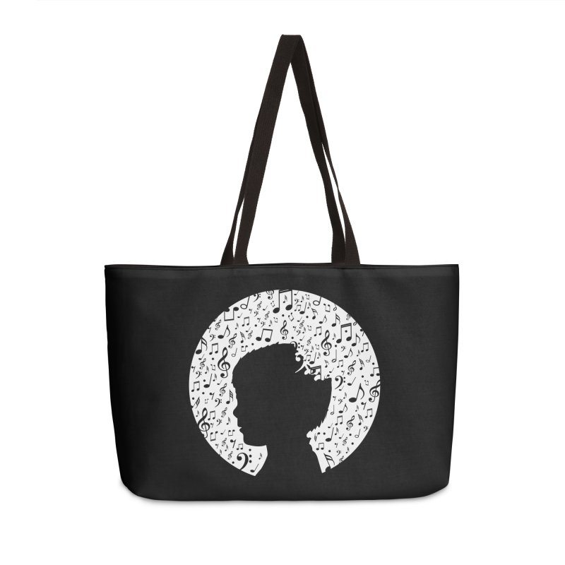 Science of Music Accessories Weekender Bag Bag by mhacksi's Artist Shop