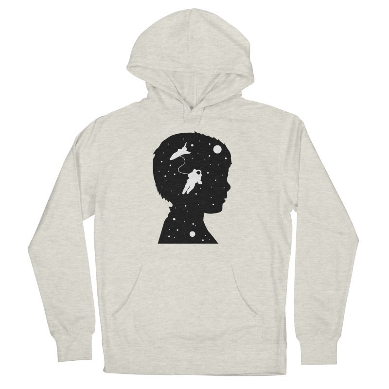 Space dreams Men's French Terry Pullover Hoody by mhacksi's Artist Shop