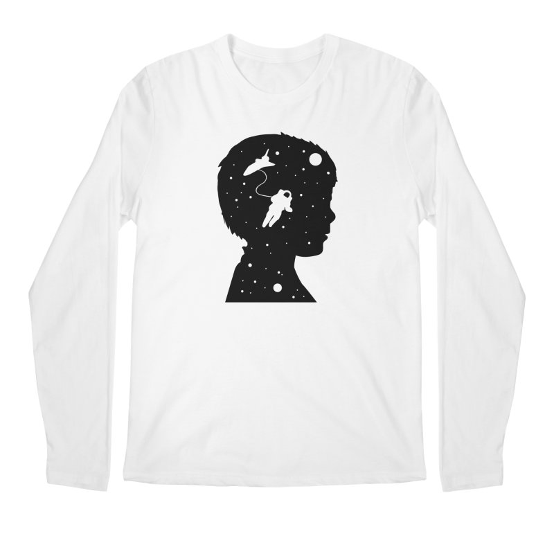 Space dreams Men's Regular Longsleeve T-Shirt by mhacksi's Artist Shop