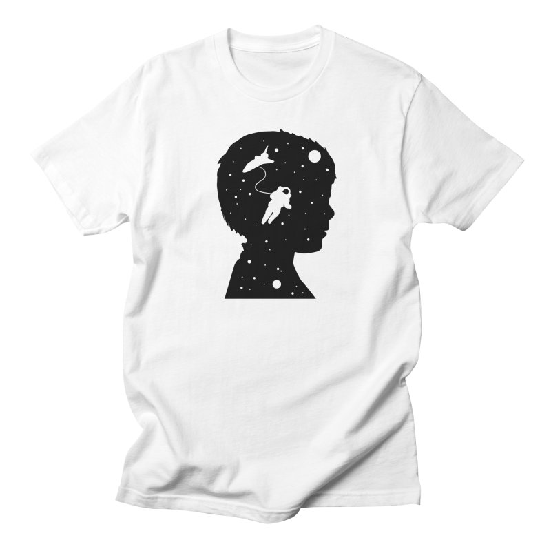 Space dreams Men's Regular T-Shirt by mhacksi's Artist Shop