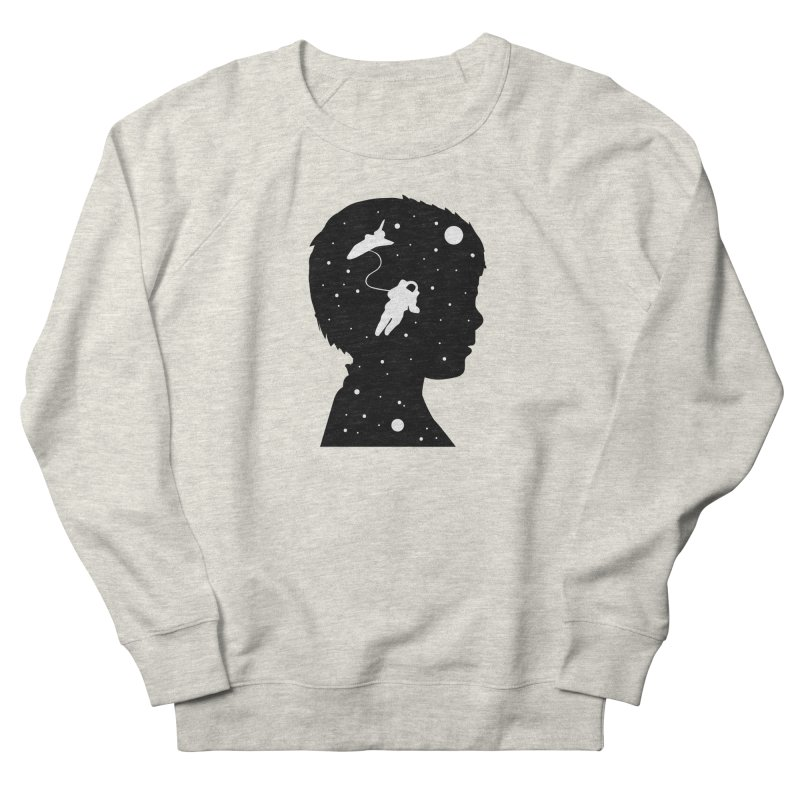 Space dreams Men's French Terry Sweatshirt by mhacksi's Artist Shop