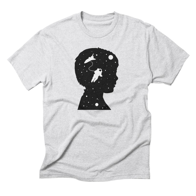 Space dreams Men's Triblend T-Shirt by mhacksi's Artist Shop