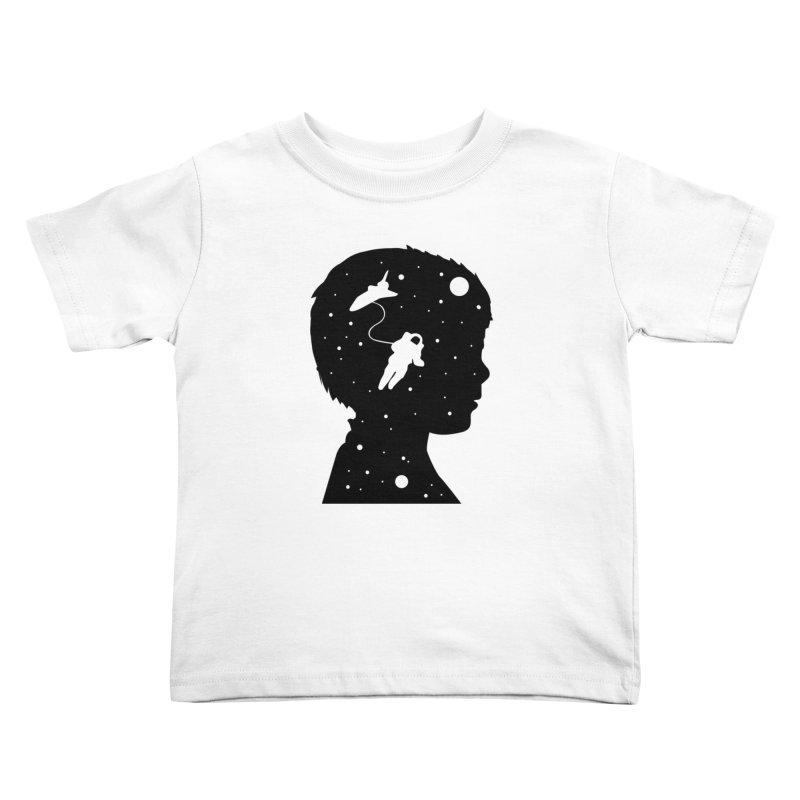 Space dreams Kids Toddler T-Shirt by mhacksi's Artist Shop