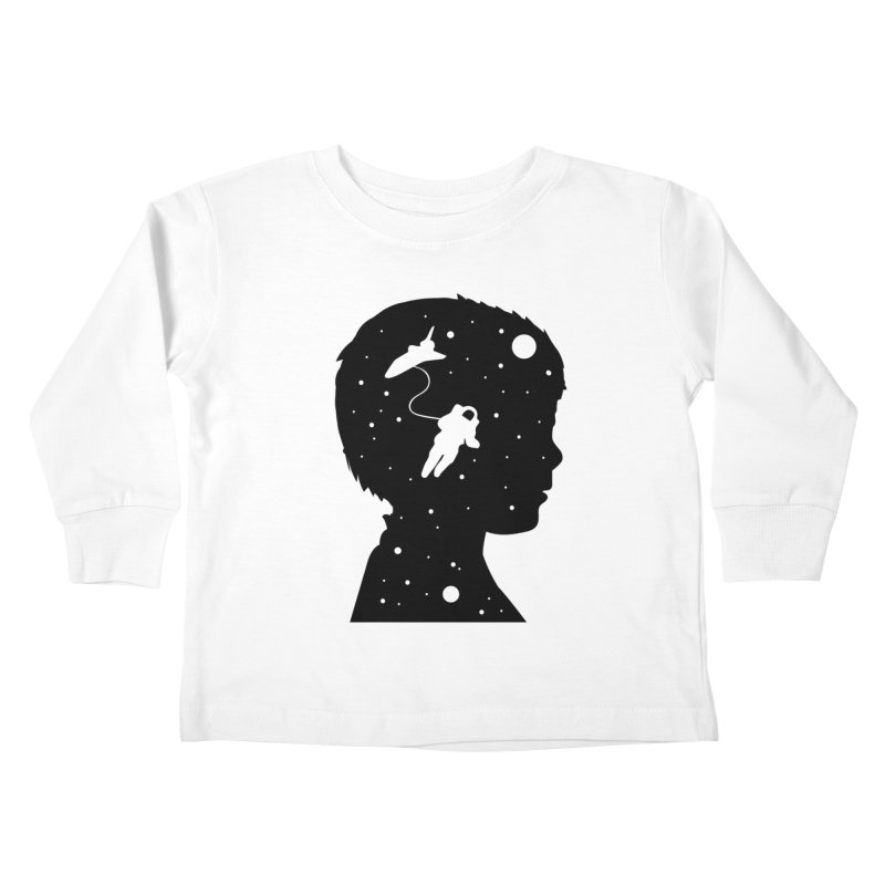 Space dreams Kids Toddler Longsleeve T-Shirt by mhacksi's Artist Shop