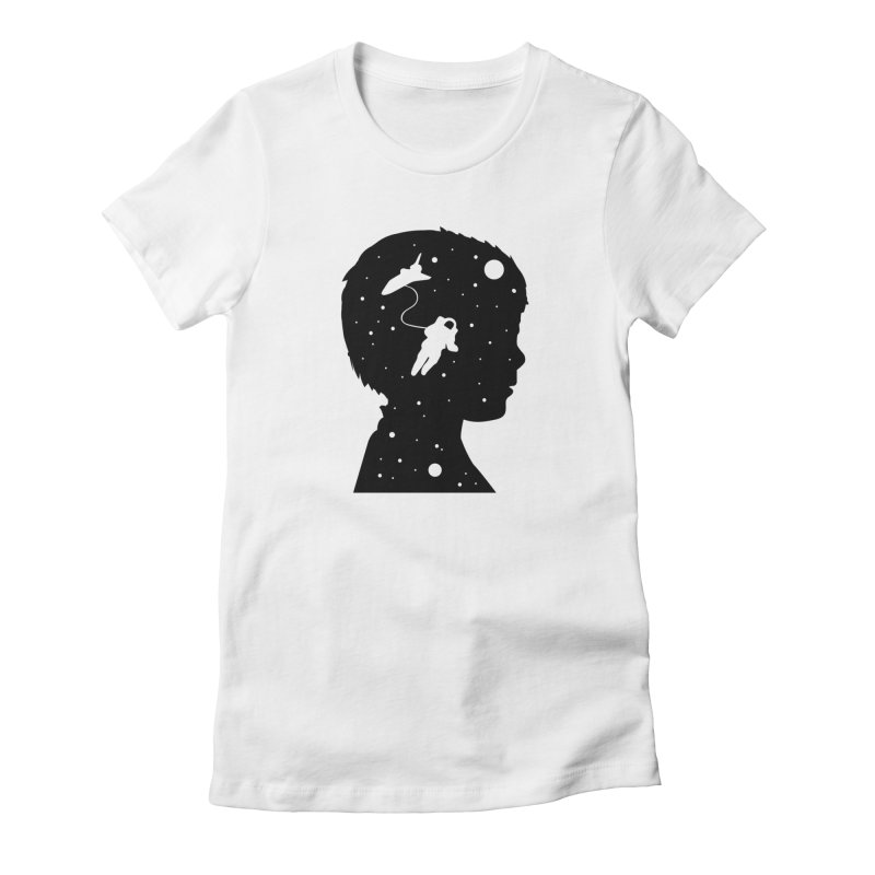 Space dreams Women's T-Shirt by mhacksi's Artist Shop