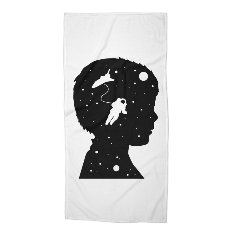 Space dreams Accessories Beach Towel by mhacksi's Artist Shop