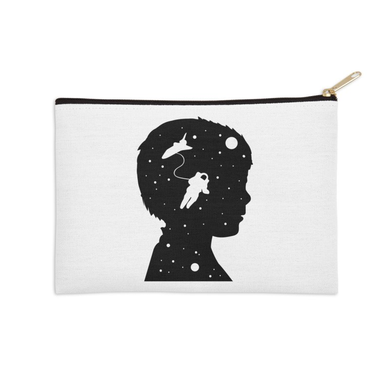 Space dreams Accessories Zip Pouch by mhacksi's Artist Shop