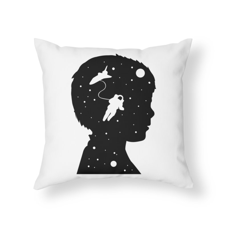 Space dreams Home Throw Pillow by mhacksi's Artist Shop