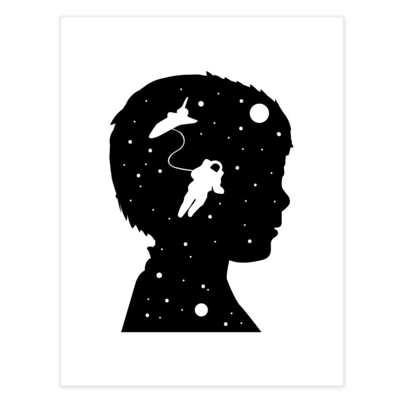 Space dreams Home Fine Art Print by mhacksi's Artist Shop