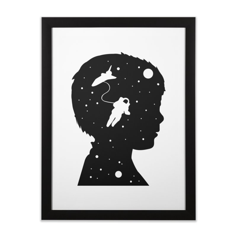Space dreams Home Framed Fine Art Print by mhacksi's Artist Shop
