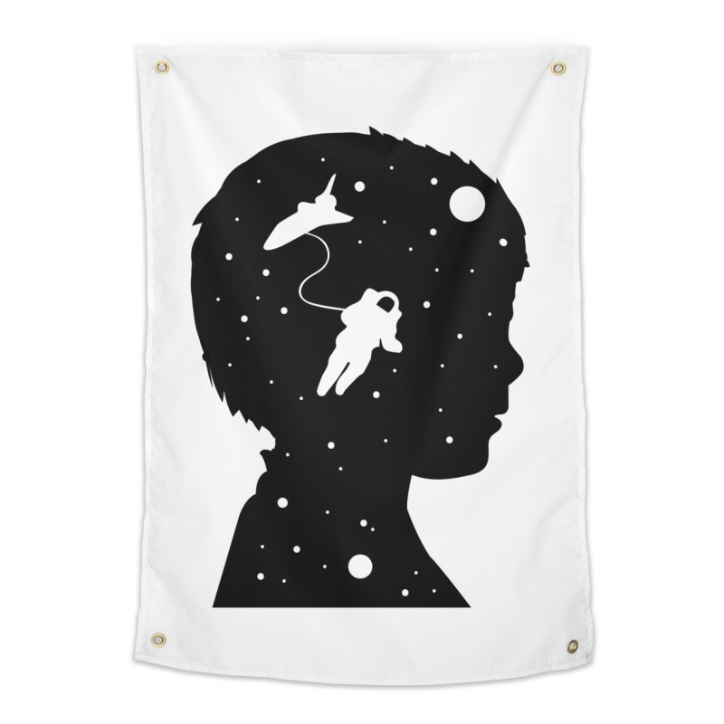 Space dreams Home Tapestry by mhacksi's Artist Shop