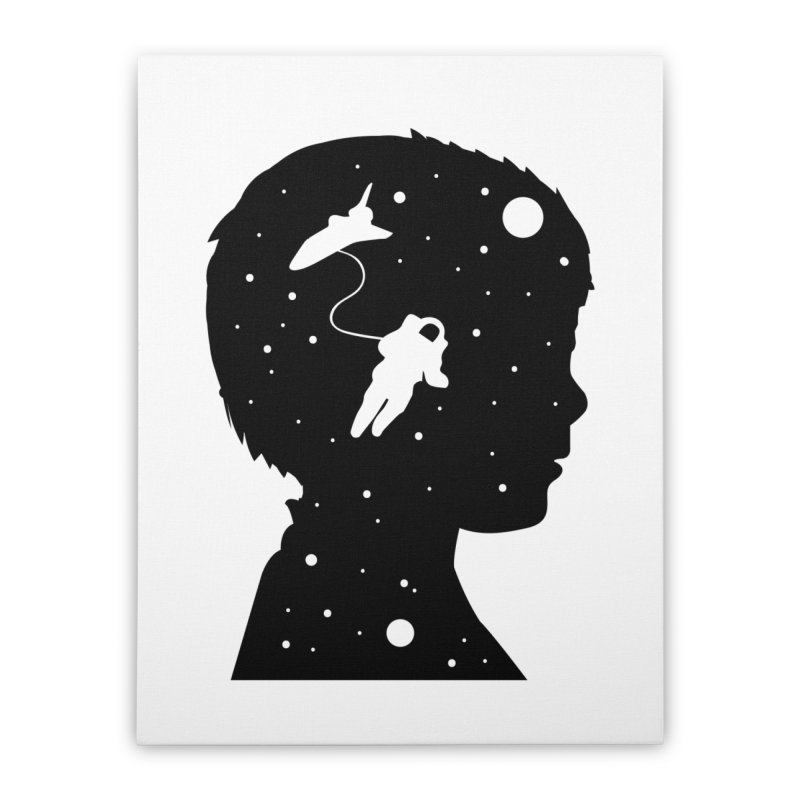 Space dreams Home Stretched Canvas by mhacksi's Artist Shop