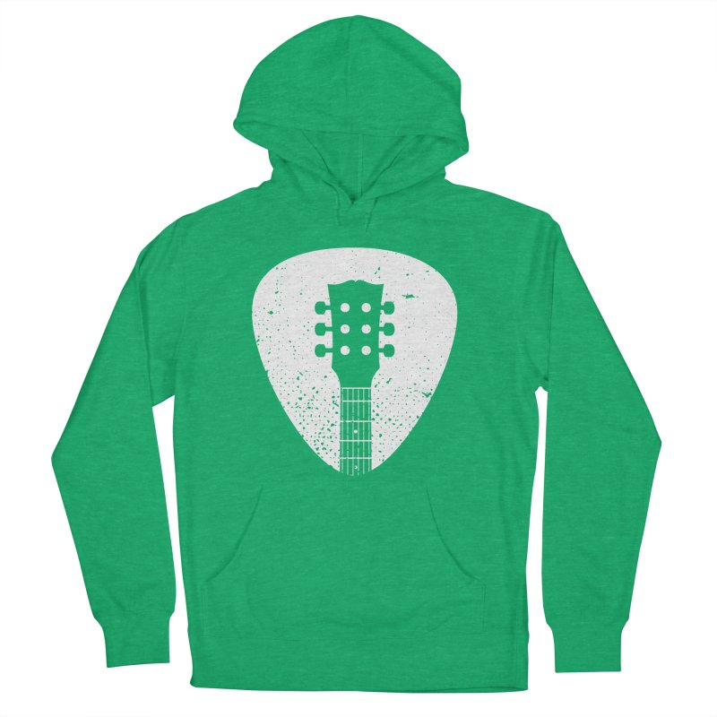 Rock Pick Women's Pullover Hoody by mhacksi's Artist Shop
