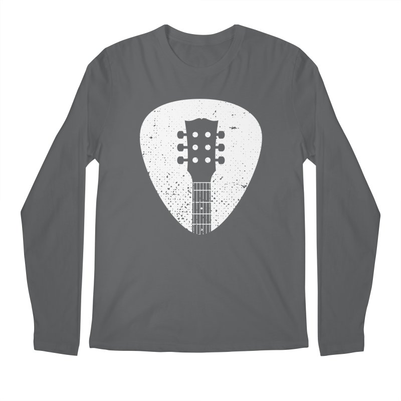 Rock Pick Men's Longsleeve T-Shirt by mhacksi's Artist Shop