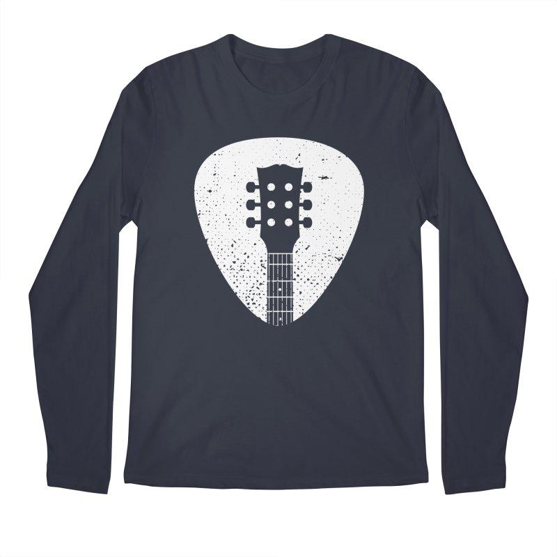 Rock Pick Men's Regular Longsleeve T-Shirt by mhacksi's Artist Shop