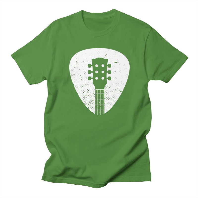 Rock Pick Men's Regular T-Shirt by mhacksi's Artist Shop
