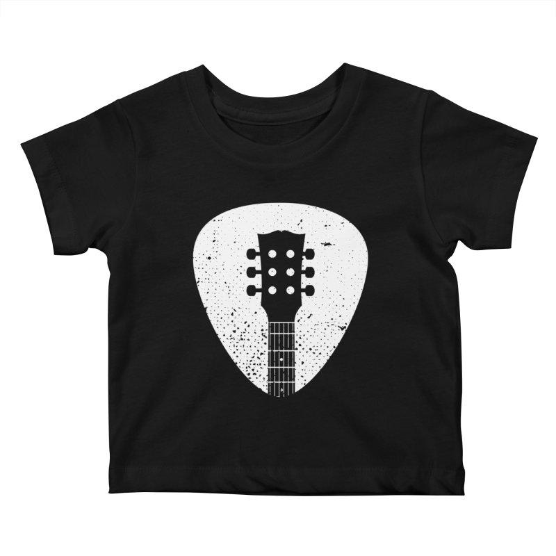 Rock Pick Kids Baby T-Shirt by mhacksi's Artist Shop