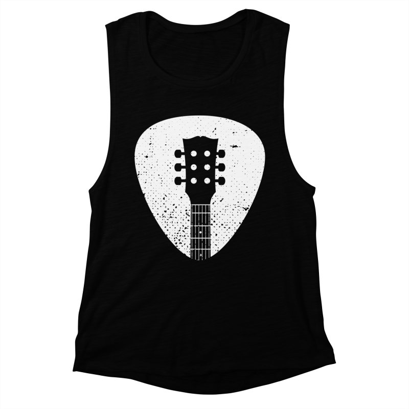 Rock Pick Women's Muscle Tank by mhacksi's Artist Shop