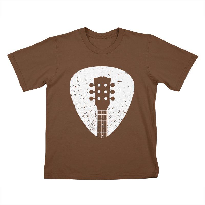 Rock Pick Kids T-Shirt by mhacksi's Artist Shop