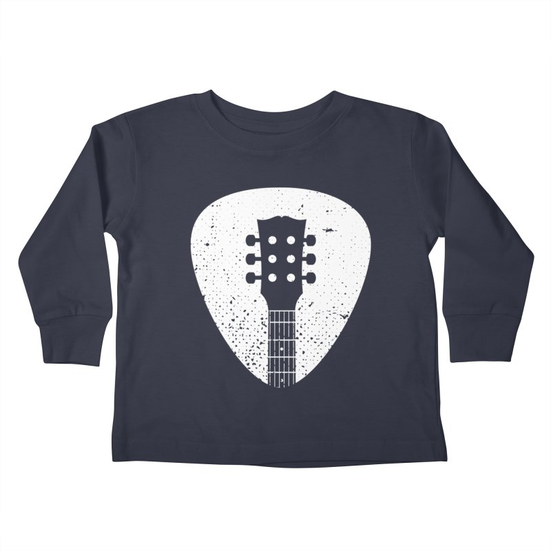 Rock Pick Kids Toddler Longsleeve T-Shirt by mhacksi's Artist Shop