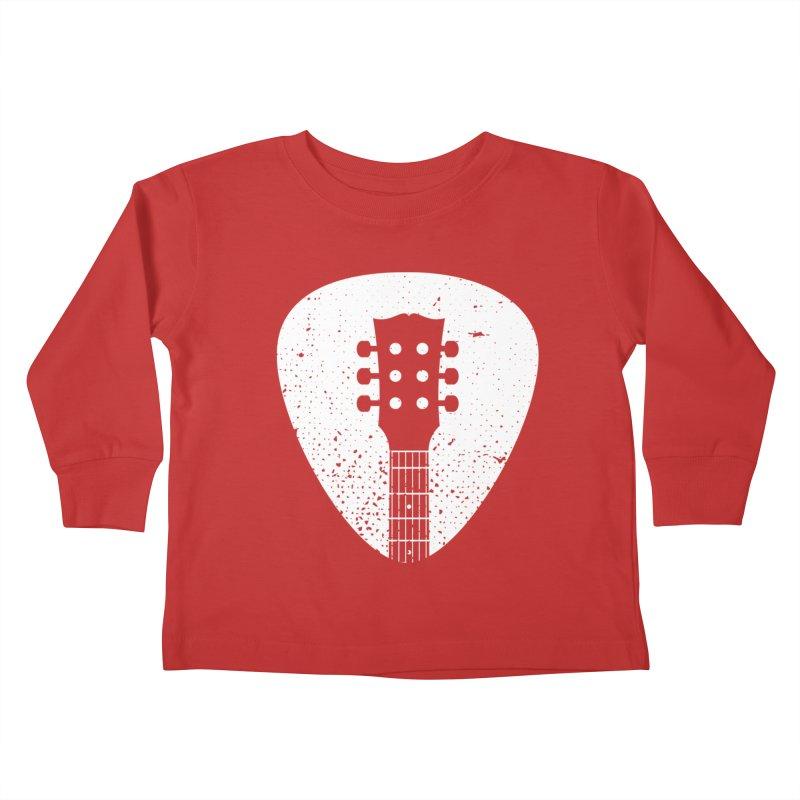 Rock Pick Kids Toddler Longsleeve T-Shirt by mhacksi's Artist Shop