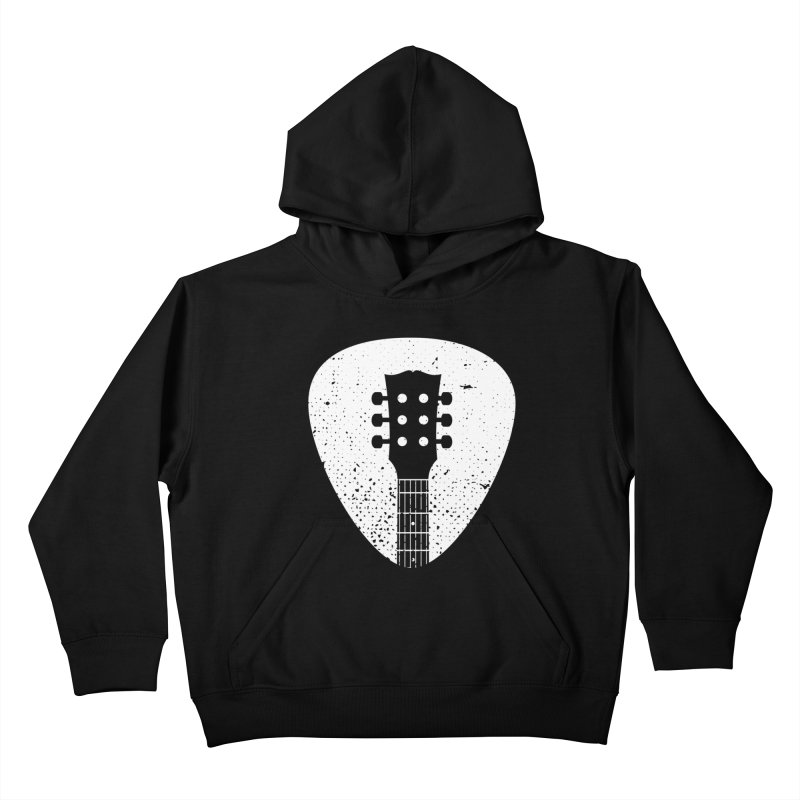 Rock Pick Kids Pullover Hoody by mhacksi's Artist Shop