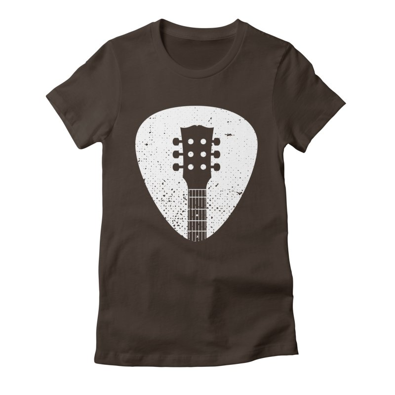 Rock Pick Women's Fitted T-Shirt by mhacksi's Artist Shop