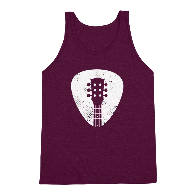 Rock Pick Men's Triblend Tank by mhacksi's Artist Shop