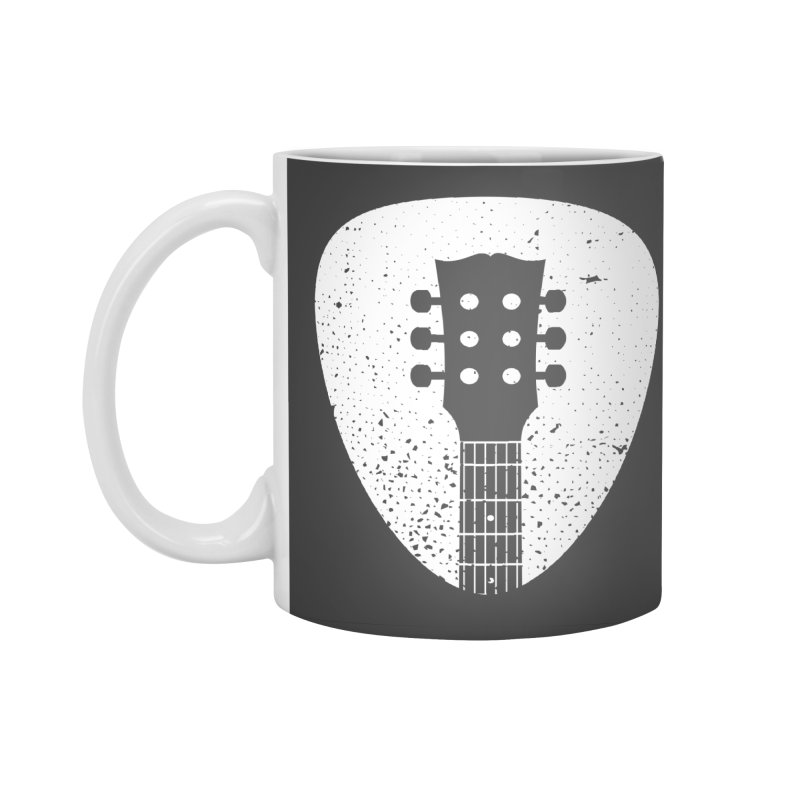 Rock Pick Accessories Standard Mug by mhacksi's Artist Shop