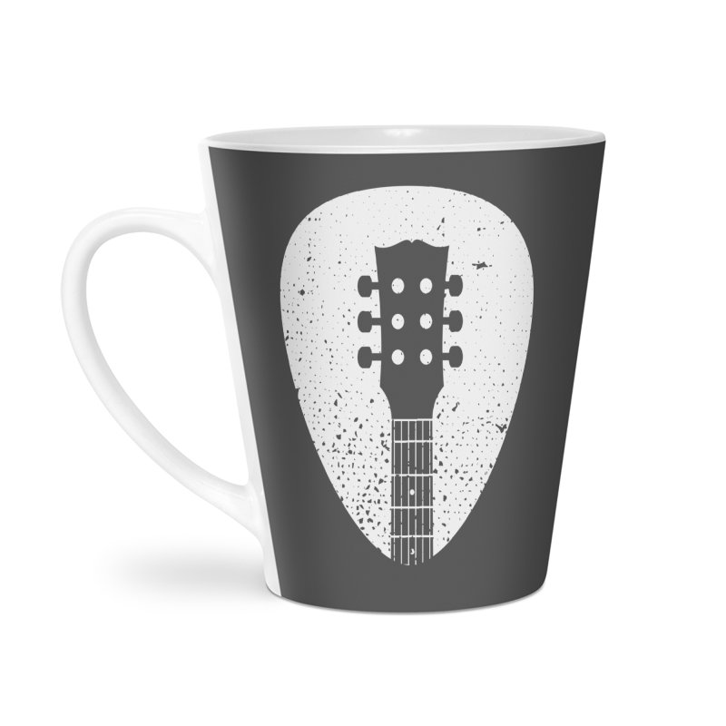 Rock Pick Accessories Latte Mug by mhacksi's Artist Shop