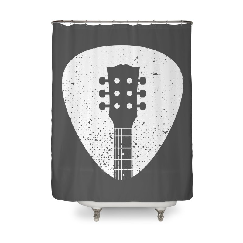 Rock Pick Home Shower Curtain by mhacksi's Artist Shop
