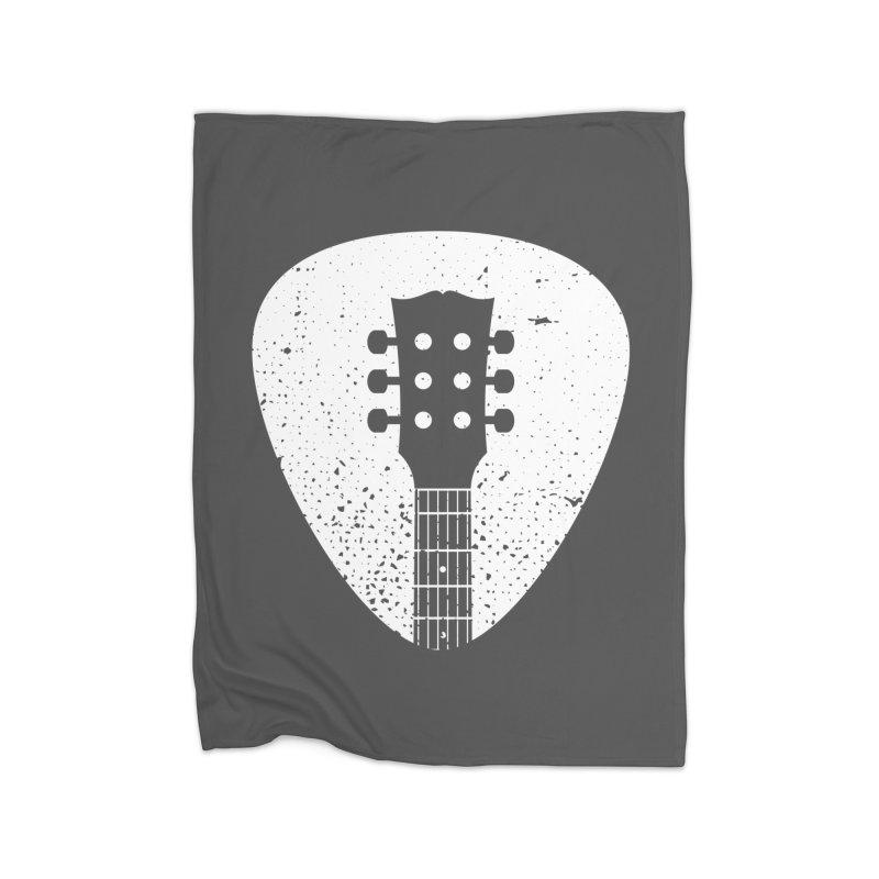 Rock Pick Home Blanket by mhacksi's Artist Shop