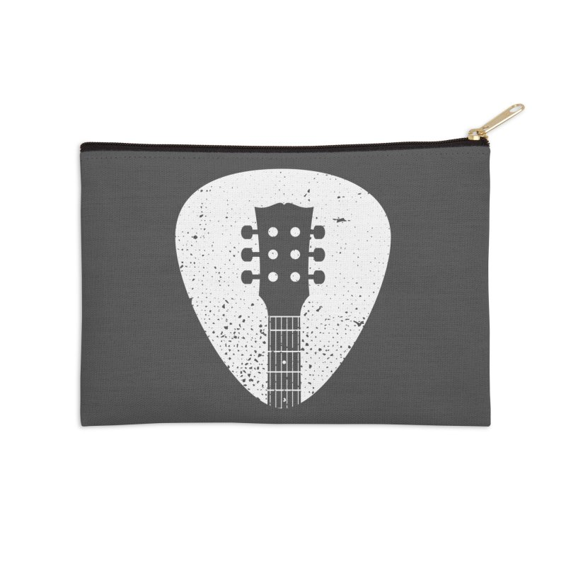 Rock Pick Accessories Zip Pouch by mhacksi's Artist Shop