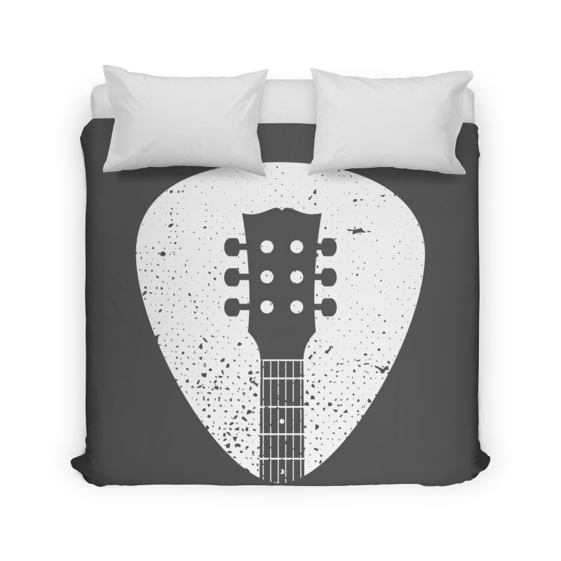 Rock Pick Home Duvet by mhacksi's Artist Shop