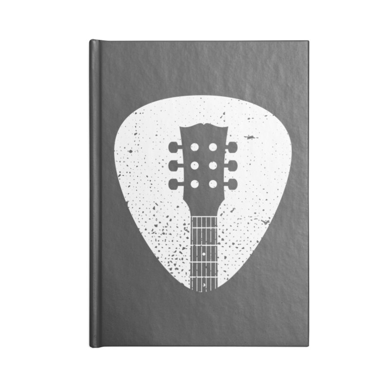 Rock Pick Accessories Lined Journal Notebook by mhacksi's Artist Shop