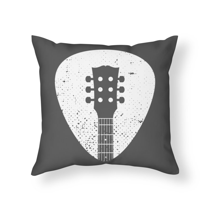 Rock Pick Home Throw Pillow by mhacksi's Artist Shop