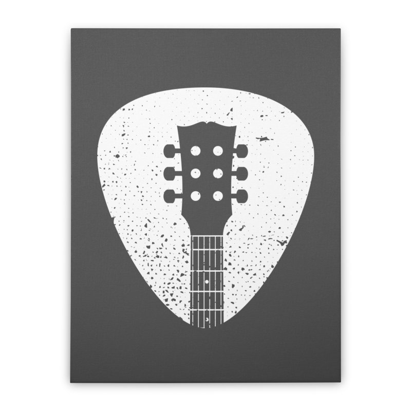 Rock Pick Home Stretched Canvas by mhacksi's Artist Shop