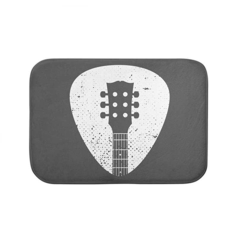 Rock Pick Home Bath Mat by mhacksi's Artist Shop
