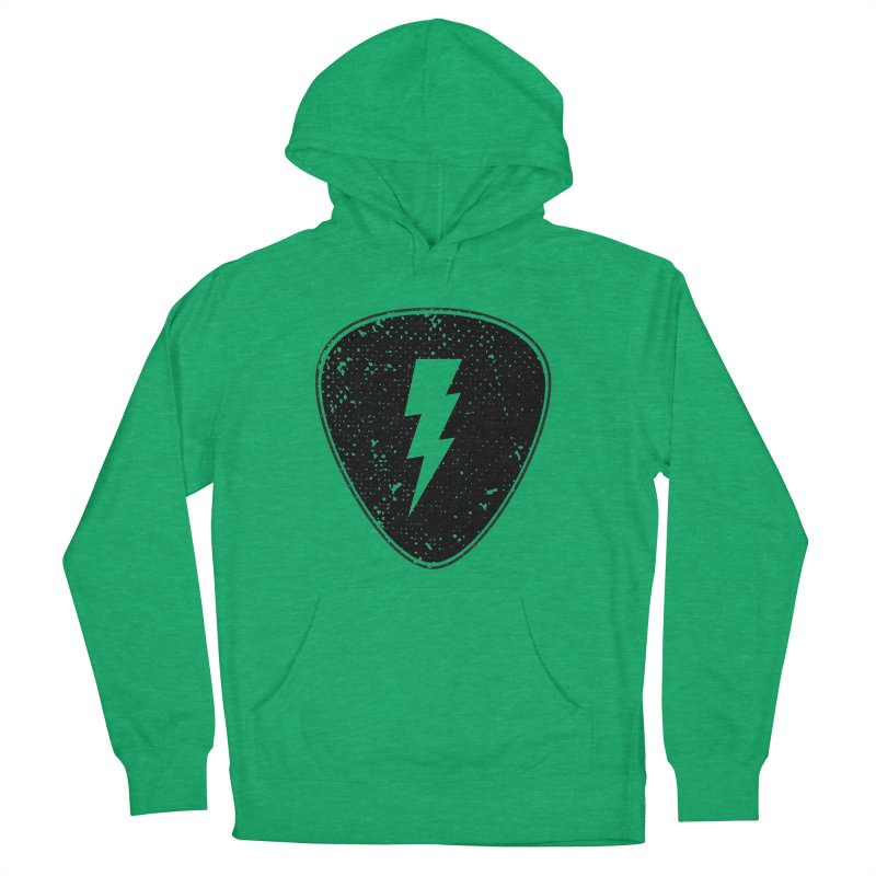 Ray Pick Men's French Terry Pullover Hoody by mhacksi's Artist Shop