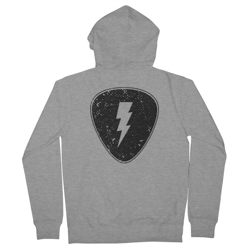 Ray Pick Men's French Terry Zip-Up Hoody by mhacksi's Artist Shop