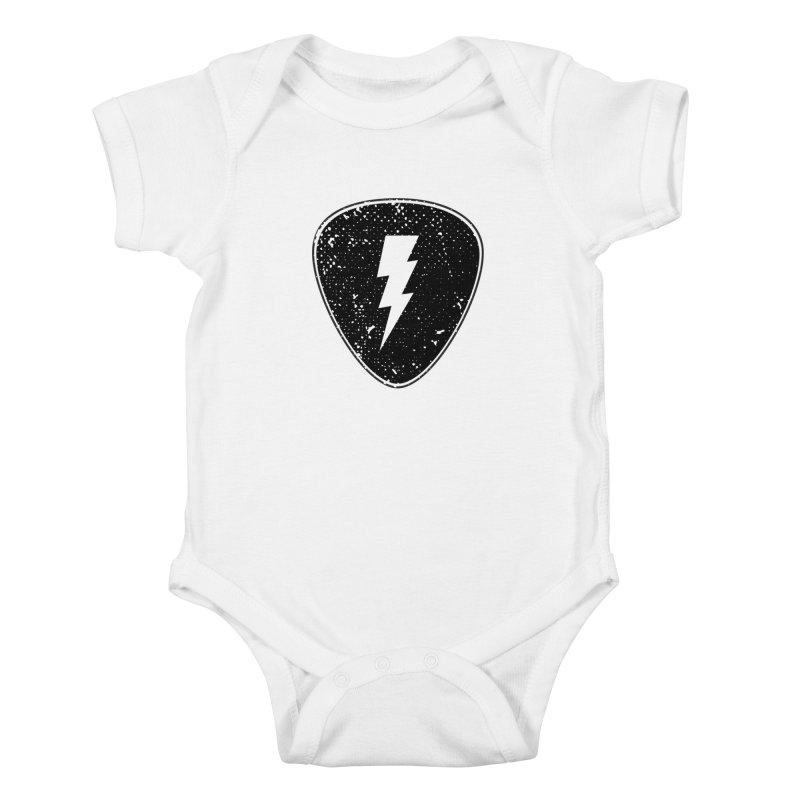 Ray Pick Kids Baby Bodysuit by mhacksi's Artist Shop